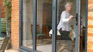 How to Open Bi-fold Doors