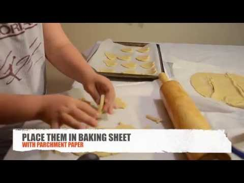 Watch video How to bake cookies