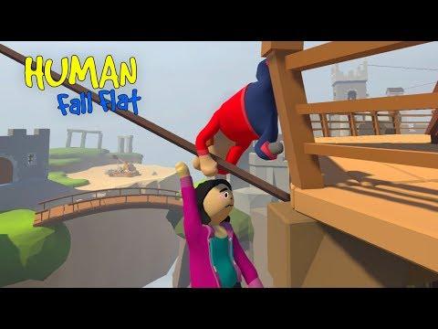 MASSINHAS ATRAPALHADAS (Human Fall Flat) | Luluca Games