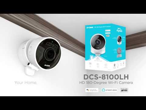 D-Link DCS-8100LH (1280 x 720 pixels (HD 720))