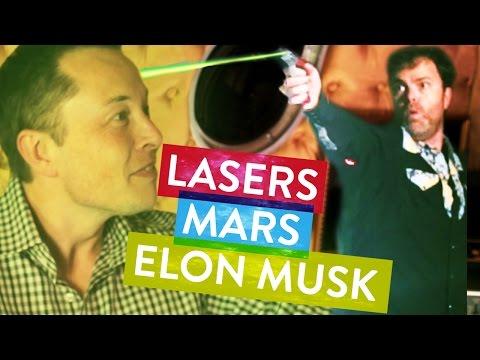 Dwight z Kanclu unesl Elona Muska a vyzpovídal ho o kolonizaci Marsu - Svět Elona Muska