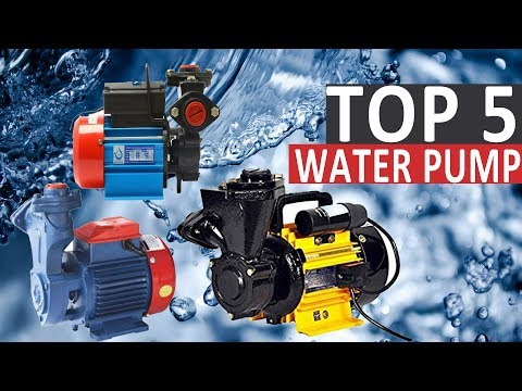 Top 5 Most Selling Water Pumps In India