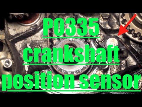 Code P0335 / P0340 /P1336 - Crankshaft Positioning Sensor