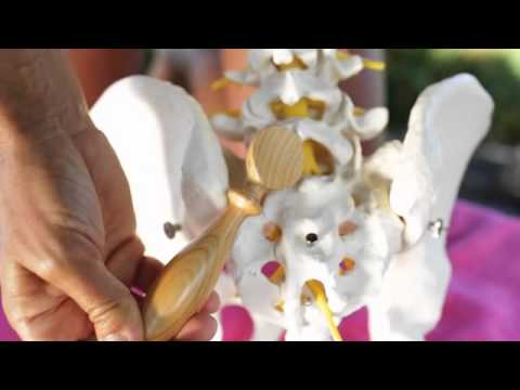 Korsett begradigen die Halswirbelsäule