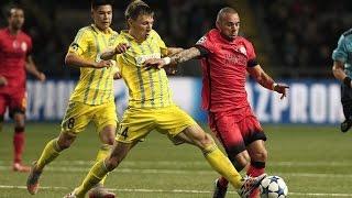 Astana vs Galatasaray 2-2 All Goals and Highlights 2015