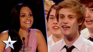 Only Boys Aloud RAISE the ROOF in Unforgettable Audition! | Britain's Got Talent
