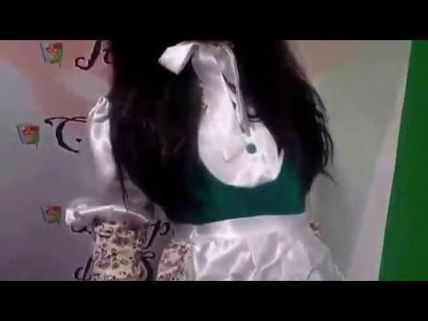 Disfraz de campesina infantil