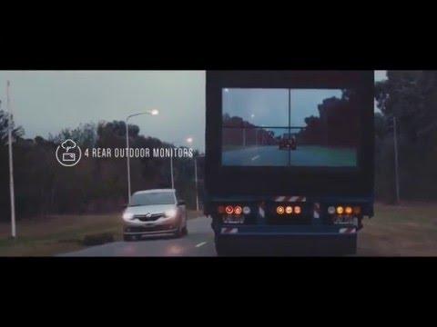 Светодиодные экраны для фур и грузовиков
