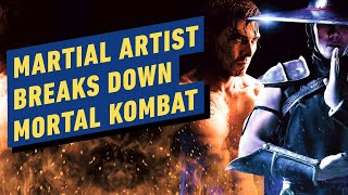 Martial Arts Expert Reacts to a Mortal Kombat Fight Scene by IGN