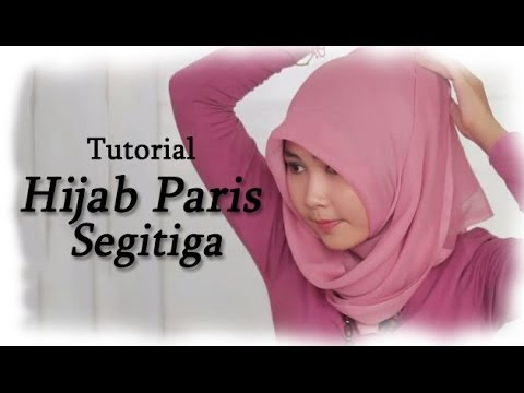 Video Tutorial Hijab Paris Segitiga Terbaru