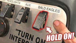 "FINALLY Putting the ""Bald Eagles"" Switch To Use... Here"