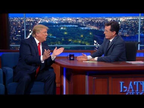 Donald Trump u Stephena Colberta