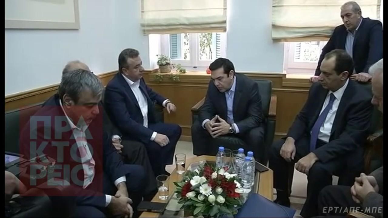Αλ. Τσίπρας:Πολιτική βούληση της κυβέρνησης να δρομολογηθούν τα μεγάλα έργα στην Κρήτη