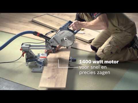 Bosch GCM800SJ radiaal afkort- & verstekzaagmachine