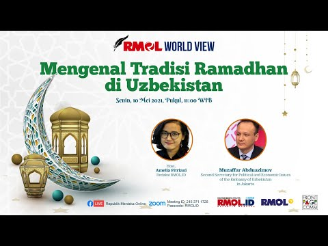 RMOL WORLD VIEW • Mengenal Tradisi Ramadhan Di Uzbekistan