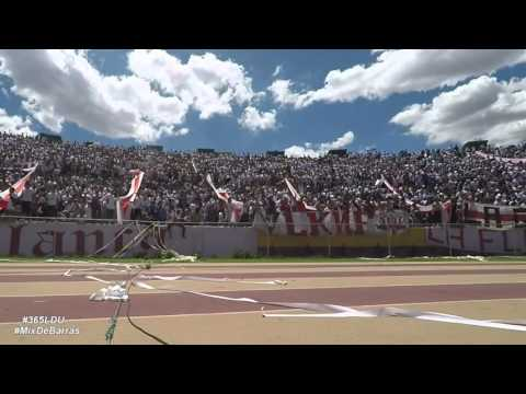 """U Católica 2 vs LIGA DEPORTIVA UNIVERSITARIA 1 (Mix de Barras)"" Barra: Muerte Blanca • Club: LDU"