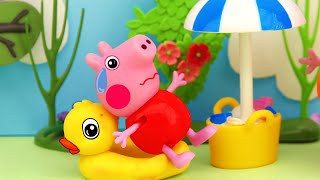 Water games, A very hot day, Peppa Pig TV 2020, 4K