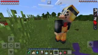 Minecraft mod naruto pe