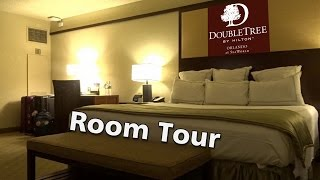 Arriving at DoubleTree by Hilton Hotel Orlando at SeaWorld. Room Tour. International Drive.