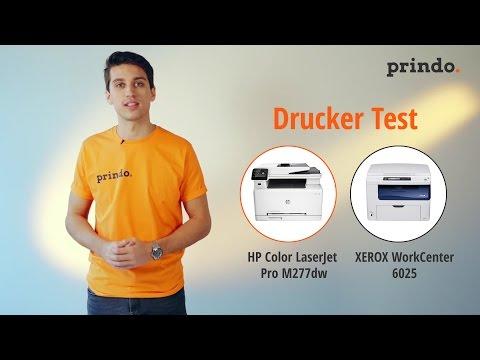 Farb-Laserdrucker im Test: HP M277dw gegen Xerox 6025 ~ prindo.de