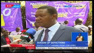 Embu Senator  Lenny Kivuti officially defects to Maendeleo Chap Chap