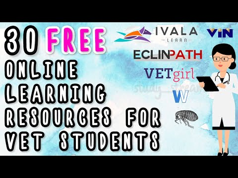30 FREE Online Resources For Veterinary Students, Veterinarians & Veterinary nurses - Vet Websites