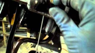 ROD KNOCK!!! What it looks like inside the engine.