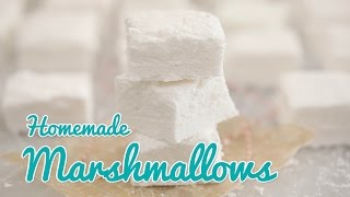How To Make Homemade Marshmallows (Corn Syrup Free) - Gemmas Bold Baking Basics Ep 25