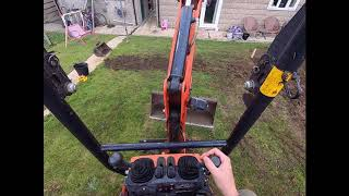 How To Use Operate a Micro Mini Digger Excavator