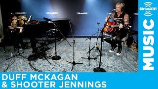 Duff McKagan & Shooter Jennings – Chip Away [LIVE @ SiriusXM]