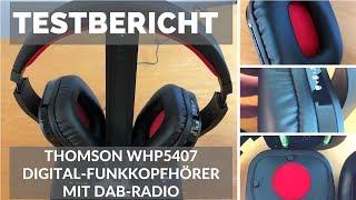 """ᐅ Unboxing- und Test-Video des """"WHP 5407"""" Funkkopfhörer mit DAB-Radio von Thomson ☑"""