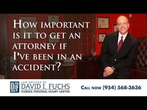 Why Do I Need a Fort Lauderdale Accident Attorney?
