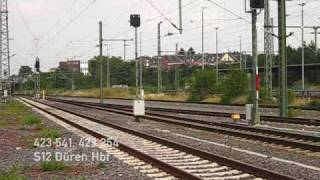 preview picture of video 'Züge am Bahnhof Düren ++ 111, 146, 185, Cobra 186, Thalys, ICE 3, Rurtalbahn'