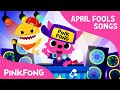 Baby Shock EDM Version of Baby Shark April Fools Animal Song PINKFONG Songs for Children