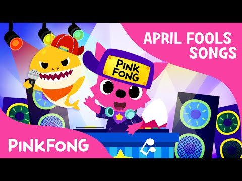 Baby Shock! | EDM Version Of Baby Shark | April Fools' Animal Song | PINKFONG Songs For Children - Pinkfong! Kids' Songs & Stories