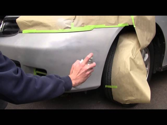 How To Repair Your Scratched Plastic Bumper How To