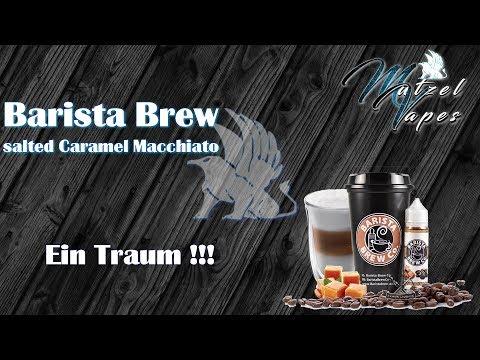 YouTube Video zu Barista Brew Co. Salted Caramel Macchiato Liquid 50 ml