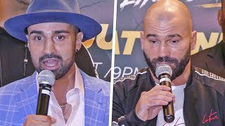 CRAZY!! Paulie Malignaggi vs. Artem Lobov FULL BARE KNUCKLE PRESS CONFERENCE | NYC