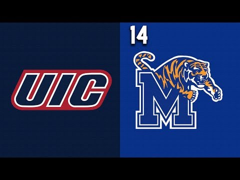 2019 College Basketball UIC vs #14 Memphis Highlights