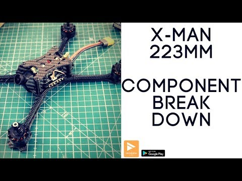 xman-223mm-fpv-racing-drone--break-down-of-components-review