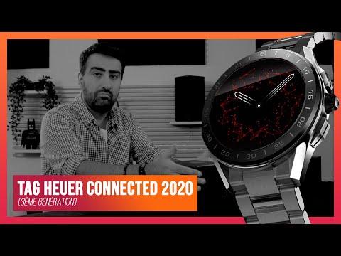 Présentation de la TAG Heuer Connected 2020 (3ème génération)