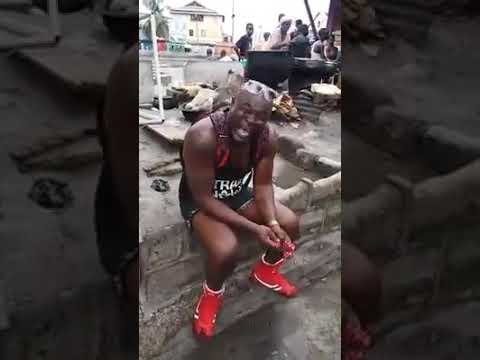 RIP: Bukom Banku's crying tribute to Ebony, fake or nah?
