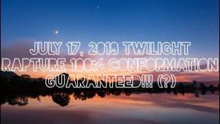 july 17 2019 rapture confirmations - Thủ thuật máy tính