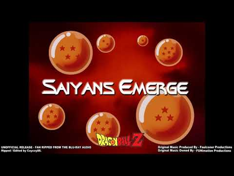 Dragonball Z - Episode 154 - Saiyans Emerge - (Part 1) - [Faulconer Instrumental]
