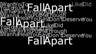Fall Apart Lyrics- Every Avenue