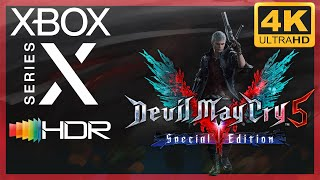 [4K/HDR] Devil May Cry V : Special Edition / Xbox Series X Gameplay