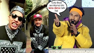 Ranveer Singh's SH0CKING Refusal to give Credit To Divine  Naezy on whom Film Gully Boys Is Based