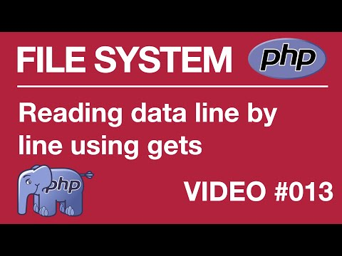 Lesson 13 PHP - File Systems - Fopen And Fgets Functions, Read Data Line By Line Mp3