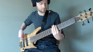The Mirror - Dream Theater - Bass Cover using Jammit