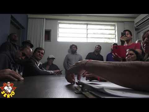 Repórter Favela pergunta para a Sabesp